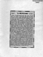 Crítica-El Meridiano