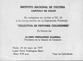 Colectiva De Pintores Colonenses Invitación