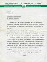 O.E.A. Carta Informativa