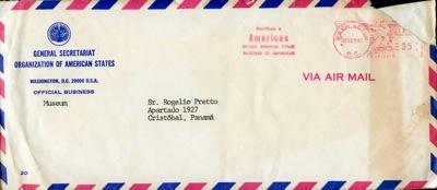 O.E.A. Carta Del Director