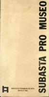 Subasta Pro Museo Catalogo