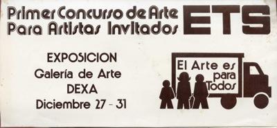 Primer Concurso De Arte ETS Exposicion
