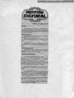 Matutino Agenda Cultural