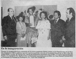 O.E.A.-La Estrella De Panamá ReseñaLa Ultima Plana Inauguracion OEA Crítica