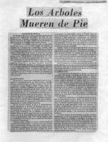 Los árboles Mueren De Pié-La Estrella De Panamá-crítica