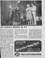 Los árboles Mueren De Pié-La Prensa-artículo
