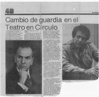 Cambio De Guardia-La Prensa-artículo