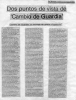 Cambio De Guardia-La Prensa-crítica