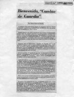 Cambio De Guardia-La Estrella De Panamá-opinión
