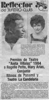 La Estrella De  Panamá-Reflector Del Teatro Club-reseña