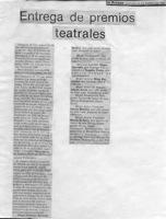 La Prensa-Círculo De Arte Dramático-artículo